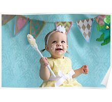 Mia first cake Poster