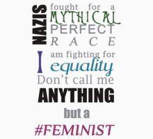 #Feminist One Piece - Short Sleeve