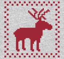 Red moose reindeer Kids Clothes