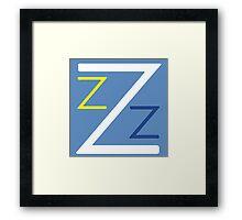 Team Zissou Framed Print