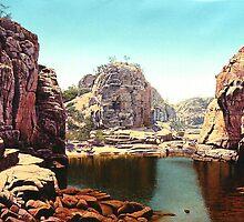 katherine gorge NT by richard clarke