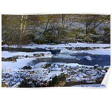 River Swale at Keld,North Yorkshire. Poster
