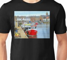 scottish harbor  Unisex T-Shirt