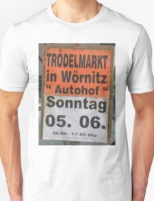Moo's Favorite Flohmarkt Unisex T-Shirt
