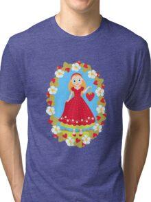 Strawberry Delight Tri-blend T-Shirt