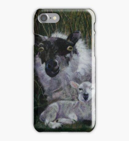 Sheep and Lamb iPhone Case/Skin