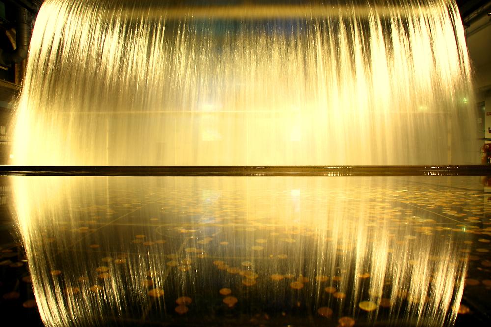 Guiness Waterfall by Jeff Barnard
