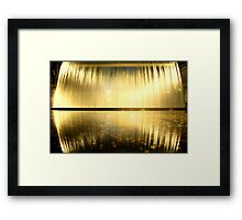 Guiness Waterfall Framed Print
