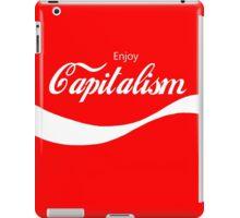 Enjoy Capitalism (b) iPad Case/Skin