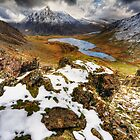 Llyn Idwal, Winter by Owen Burke