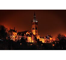 Glasgow University Photographic Print