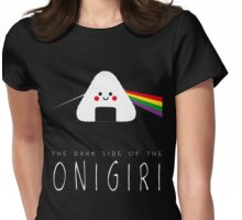 The dark side of the onigiri Womens Fitted T-Shirt