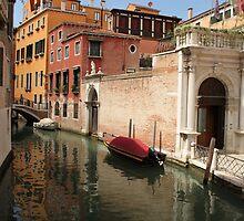 Venice canals 6 by Elena Skvortsova