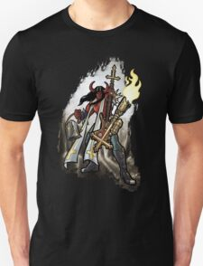 Flamethrower Guitar 002 V2 Unisex T-Shirt