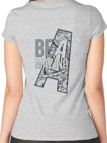 Be Amazing Zenart Women's Fitted Scoop T-Shirt