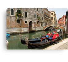 Gondolas 2 Canvas Print