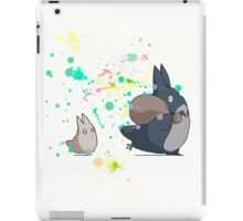 Totoro's friends colours iPad Case/Skin