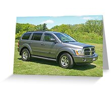 Dodge Durango Greeting Card