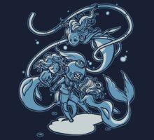 Shy & Coey: Mermaid & Diver   Unisex T-Shirt