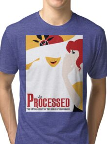 Processed - A Transistor & Wicked Mash Up Tri-blend T-Shirt