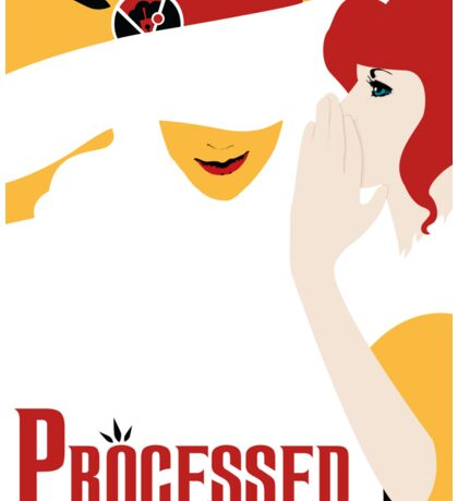Processed - A Transistor & Wicked Mash Up Sticker