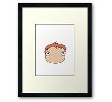 Natural Ponyo Framed Print