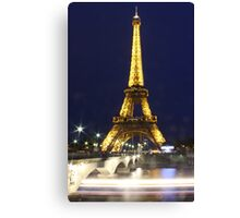 Tour d'Eiffel Canvas Print