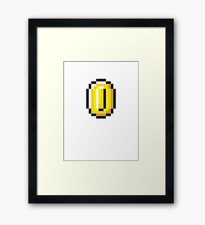 Coin Framed Print
