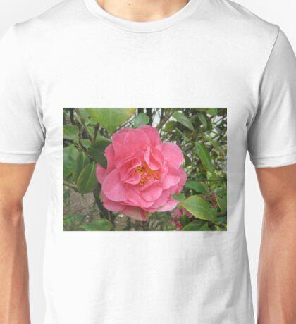Precious Pink Summertime Camellia Unisex T-Shirt
