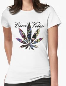 THE GOOD VIBES PLANT Womens Fitted T-Shirt