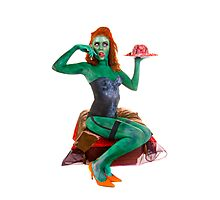 Pinup Zombie 1949 Photographic Print