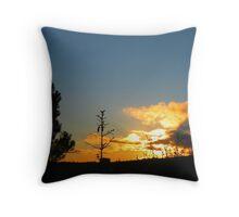 wonderful sunset ! Throw Pillow