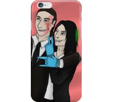 Payday 2 - Hoxton and Clover iPhone Case/Skin