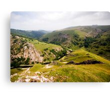 Dovedale from Thorpe Cloud Canvas Print
