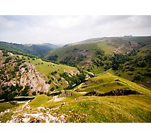Dovedale from Thorpe Cloud Photographic Print