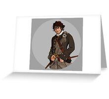 Outlander's Jamie Greeting Card