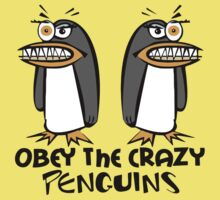Obey The Crazy Penguins  Kids Clothes