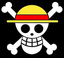 One Piece Monkey D. Luffy Mugiwara Strawhat Pirates Jolly Roger Anime Cosplay T Shirt by ryoka