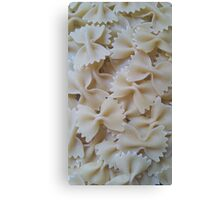 Vintage Pasta Canvas Print