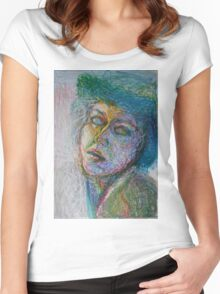 Green Woman Women's Fitted Scoop T-Shirt