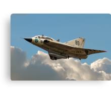 Double Delta Draken 35810 SE-DXP Canvas Print