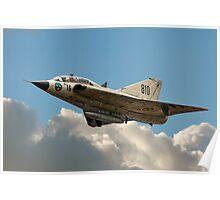 Double Delta Draken 35810 SE-DXP Poster
