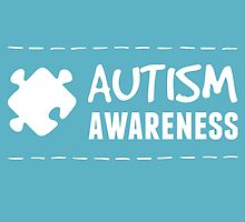 Autism Awareness in White by AllieJoy224