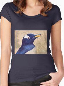 Gentoo penguin Women's Fitted Scoop T-Shirt