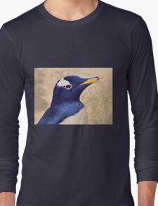 Gentoo penguin Long Sleeve T-Shirt