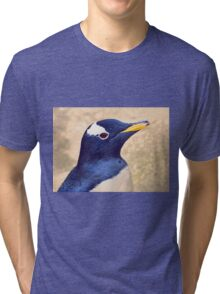 Gentoo penguin Tri-blend T-Shirt