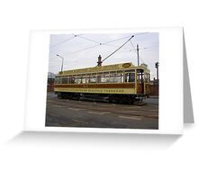 Fleetwood Tram Greeting Card