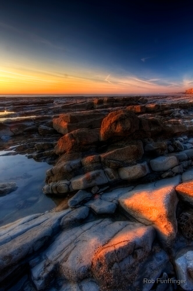 Sunset at Nash Point by Rob Funffinger