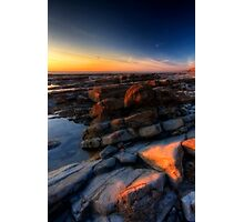 Sunset at Nash Point Photographic Print