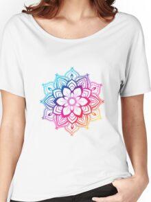 Warm Mandala Women's Relaxed Fit T-Shirt